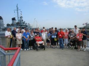 USS KIDD TOUR